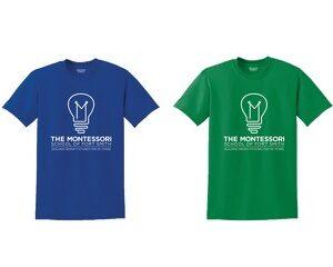 Blue Green Tshirt