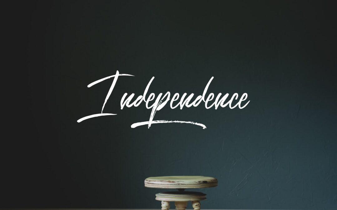 Independence: A Montessori Pillar